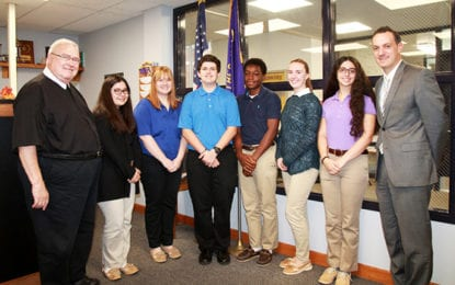 Six CBA students named commended students