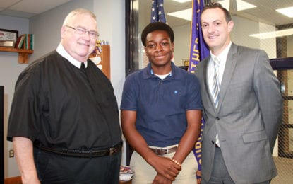 First CBA student qualifies for all-state symphonic band