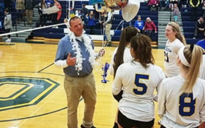 Caz volleyball gives Ellithorpe 400th coaching win