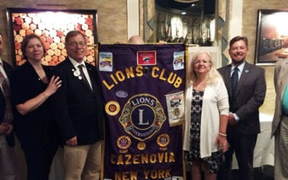 GUEST COLUMN: Cazenovia Lions Club announces 2018-19 officers