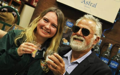 'Most interesting man in the world' promotes tequila in DeWitt