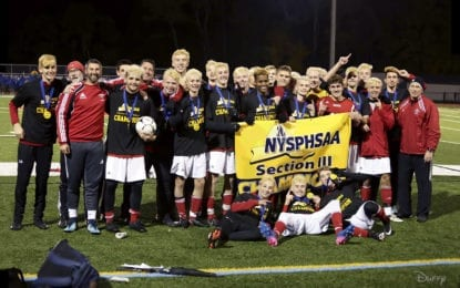 B'ville boys soccer flies to sectional Class AA title