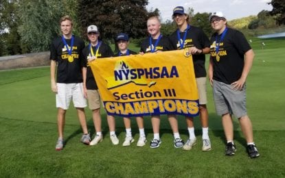 Skaneateles golfers capture fall sectional team title