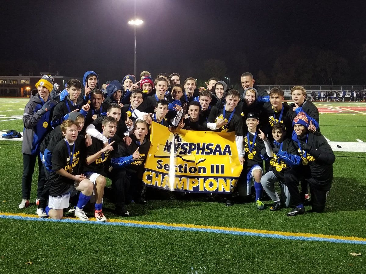 Westhill boys soccer claims third straight sectional title