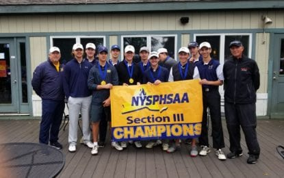 West Genesee golfers repeat as sectional team champs