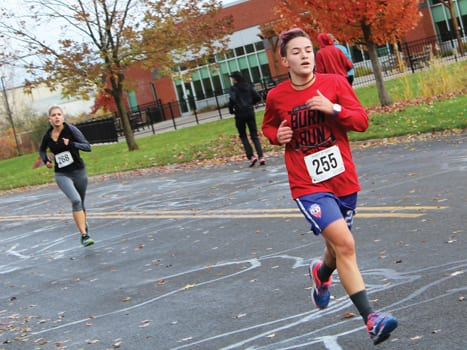 East Syracuse turns up the heat for 12th annual Burn Run
