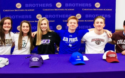 Six CBA athletes commit to college teams