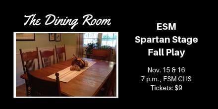 Spartan Stage to Perform Fall Play Nov. 15-16