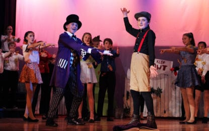 Cazenovia's Jr. High Drama Club's 'James and the Giant Peach JR' delights