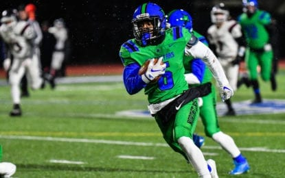 McGriff runs C-NS football to regional win over Elmira