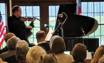 CONCERT REVIEW: Knuth, Trebicka concert at St. Peter's a remarkable event