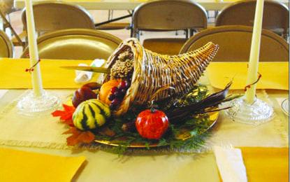 Harvest dinner slated for Nov. 10