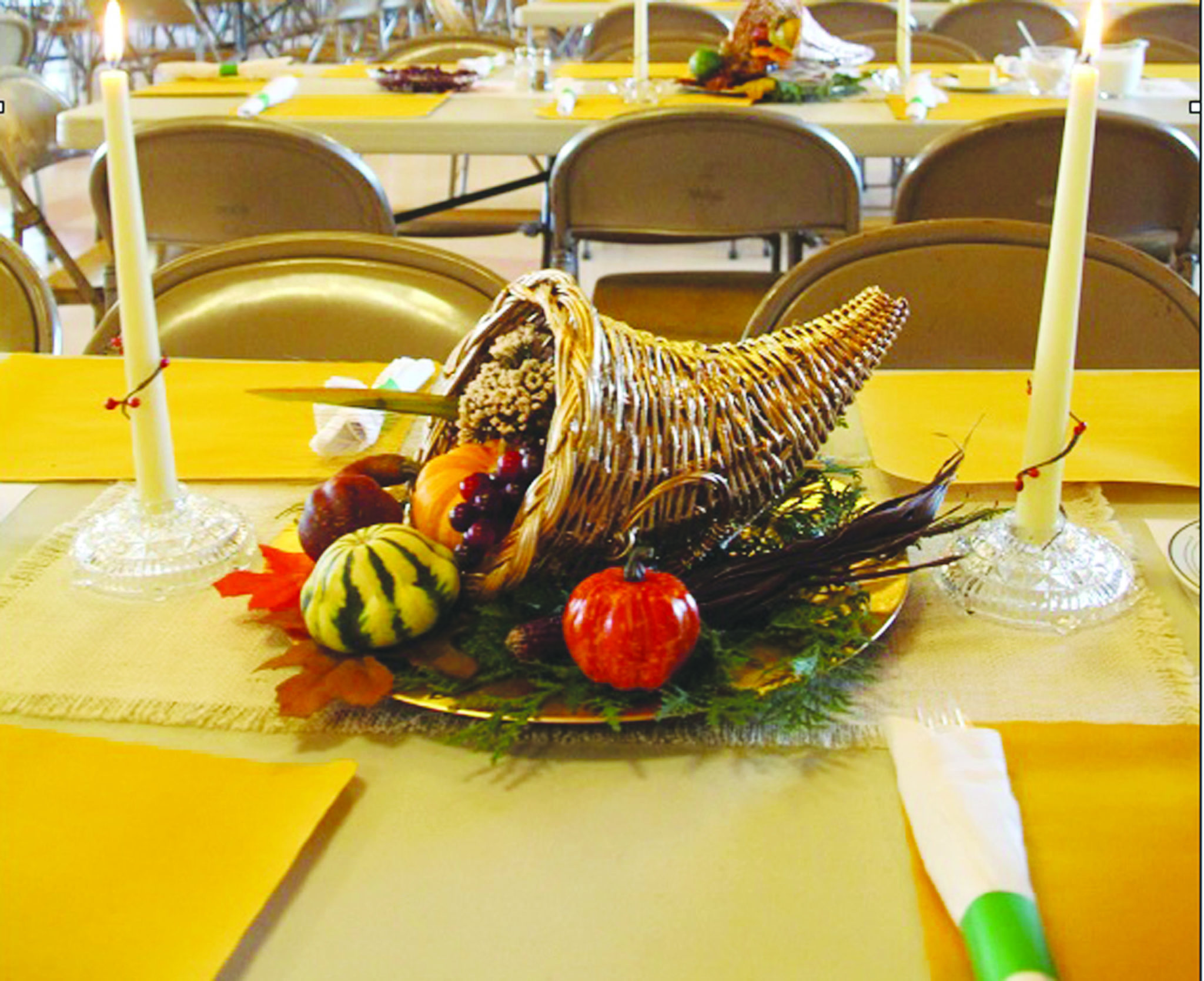 Harvest dinner slated for Nov. 10