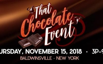 'That Chocolate Event' takes place Nov. 15