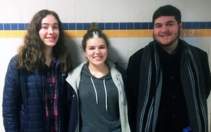 Three CHS students perform in all-state annual winter concert