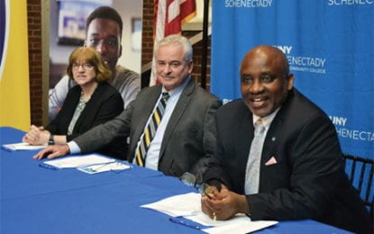 SUNY Schenectady and Cazenovia College partner on new transfer agreement