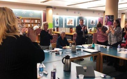 J-D superintendent attends final BOE meeting, receives standing ovation