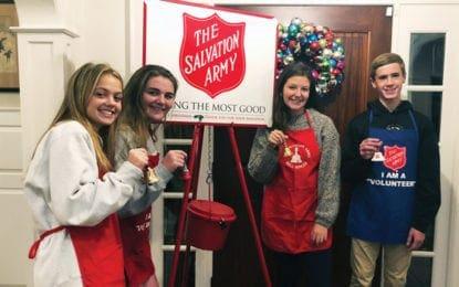 Red Kettle Campaign underway, seeking student volunteers