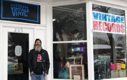 Record collector opens shop in East Syracuse