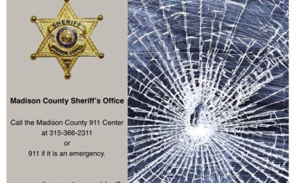 Vehicles Vandalized in Madison County