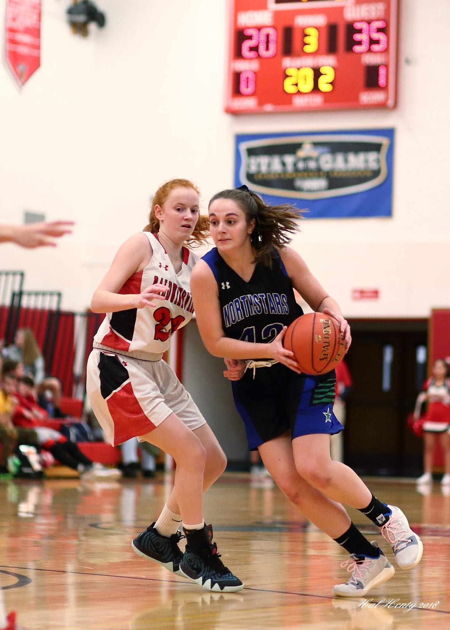C-NS girls basketball rolls to win over Baldwinsville