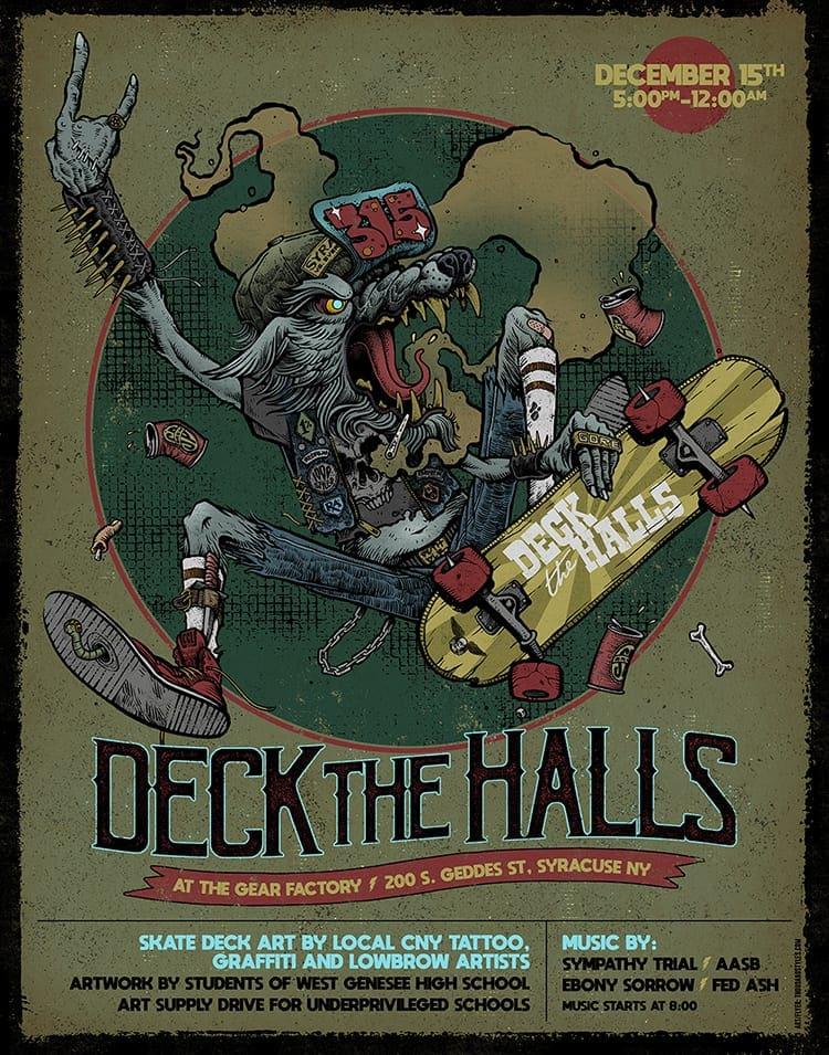 'Deck the Halls' celebrates local artists, benefits underprivileged schools