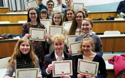 FM SCHOOLS: German National Honor Society inducts new members