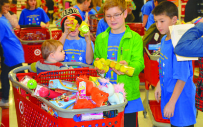 Skaneateles middle school shopping spree helps others