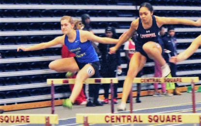 Track girls race to success in opening meet