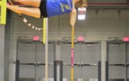Indoor track girls near the top again