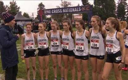 Liverpool girls run at Nike Cross Nationals