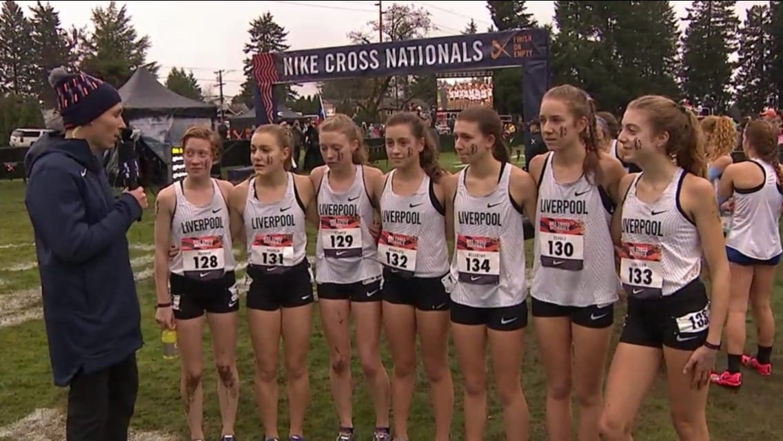 size 40 b79e0 a370a Eagle News Online – Liverpool girls run at Nike Cross Nationals