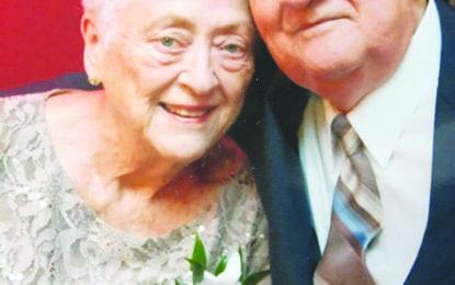 Couple celebrates 66th anniversary