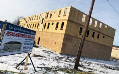 Theophilus Cazenove building next to Aldi ready by summer