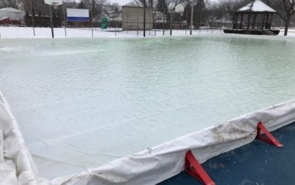 New outdoor ice rink in East Syracuse