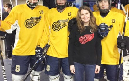 Hockey game benefiting Griffin's Guardians is Jan. 8