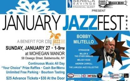JAZZfest takes place Jan. 27
