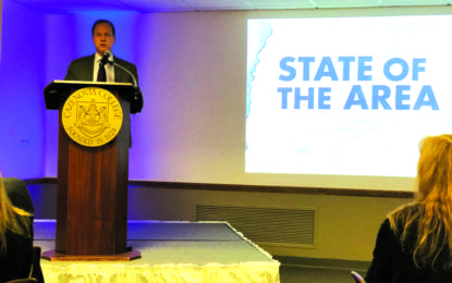 Leaders speak on state of the area