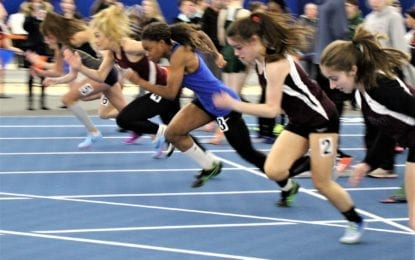Girls Lakers take second at B-2 indoor track sectionals