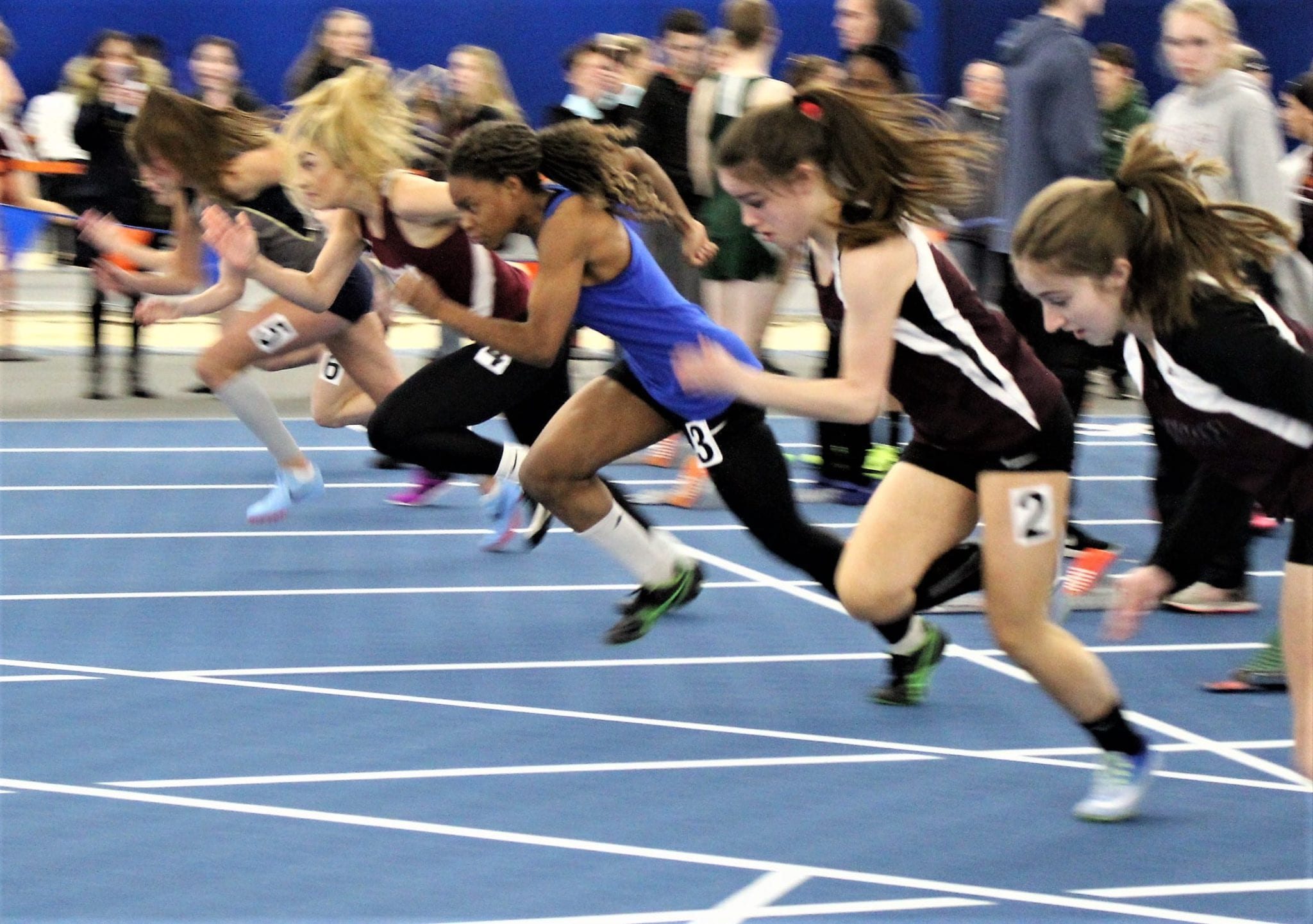Eagle News Online Girls Lakers Take Second At B 2 Indoor Track
