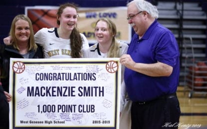 WG's Mackenzie Smith joins sister in 1,000-point club