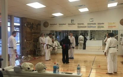 Karate and martial arts championship held in Fayetteville