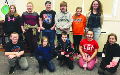 JE middle school students awarded