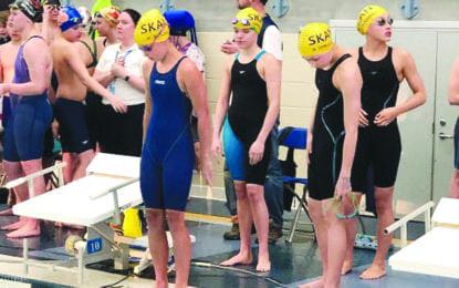 Lightning swimmers earn championship