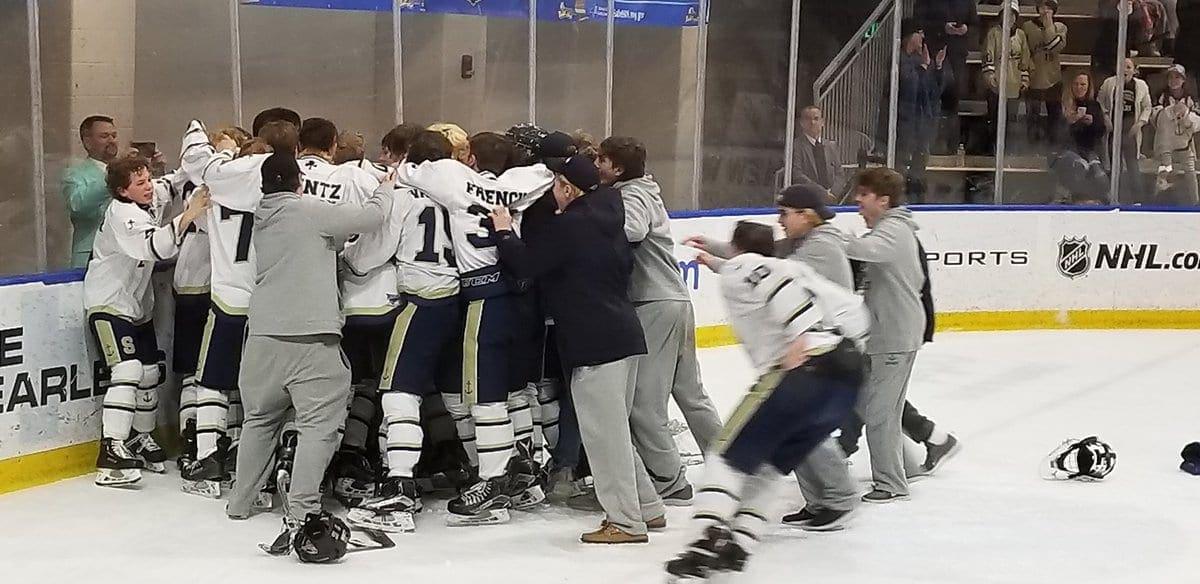 Skaneateles boys hockey claims fourth state championship