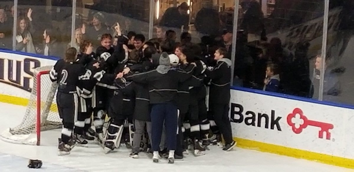 Syracuse Cougars hockey storms to first state championship
