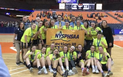 Girls hoops Wildcats roar to third straight sectional AA title