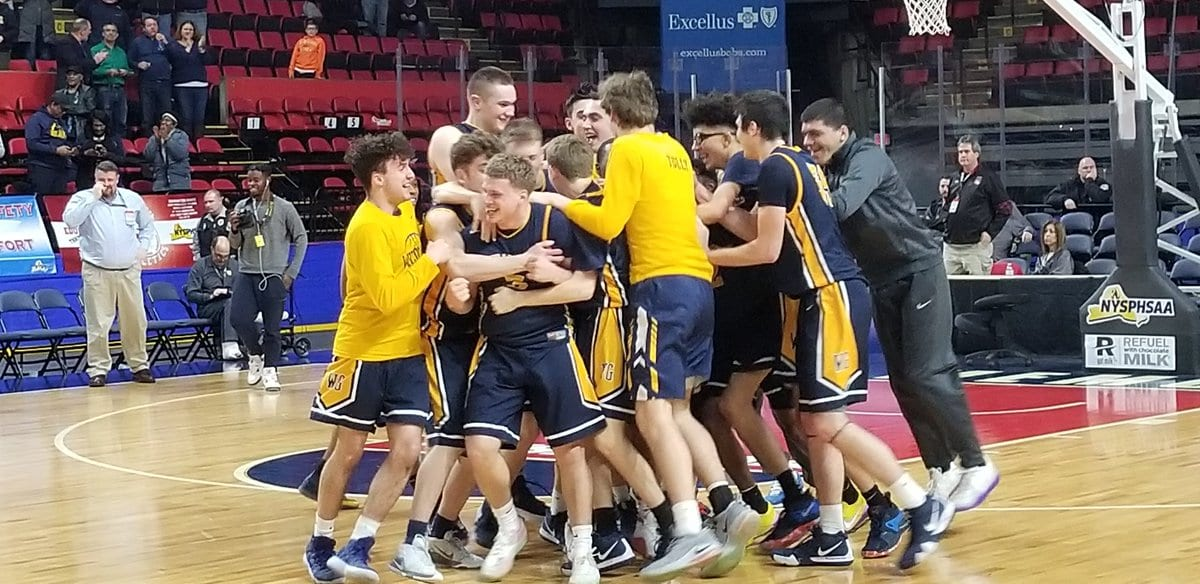 West Genesee boys basketball are state Class AA champions